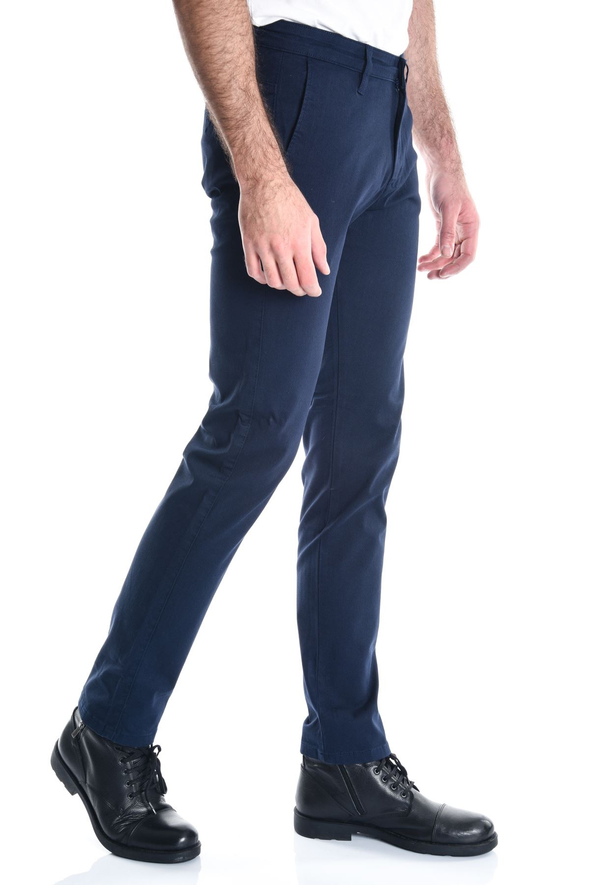 Açık Lacivert Erkek Chino Pantolon