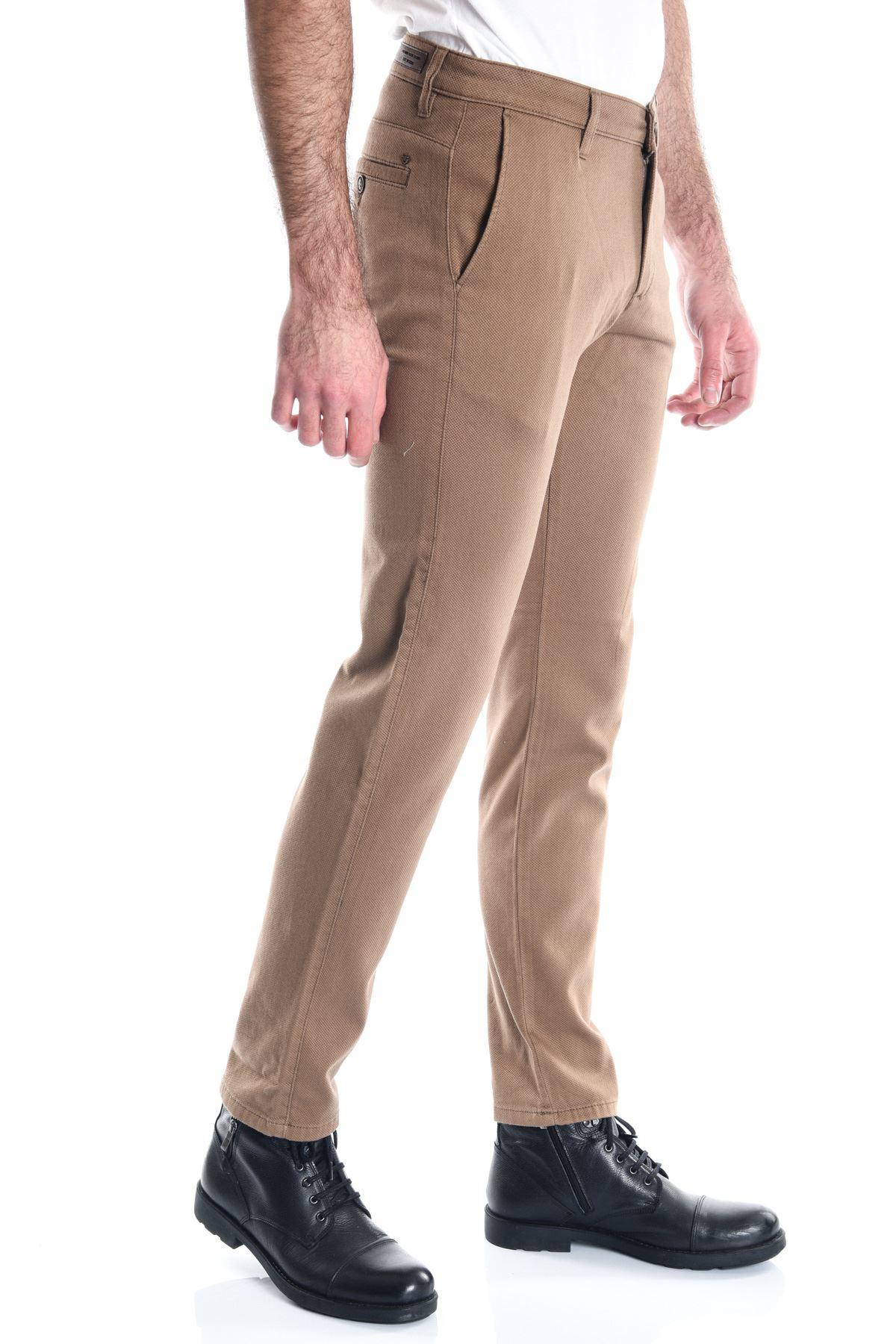 Camel Erkek Chino Pantolon