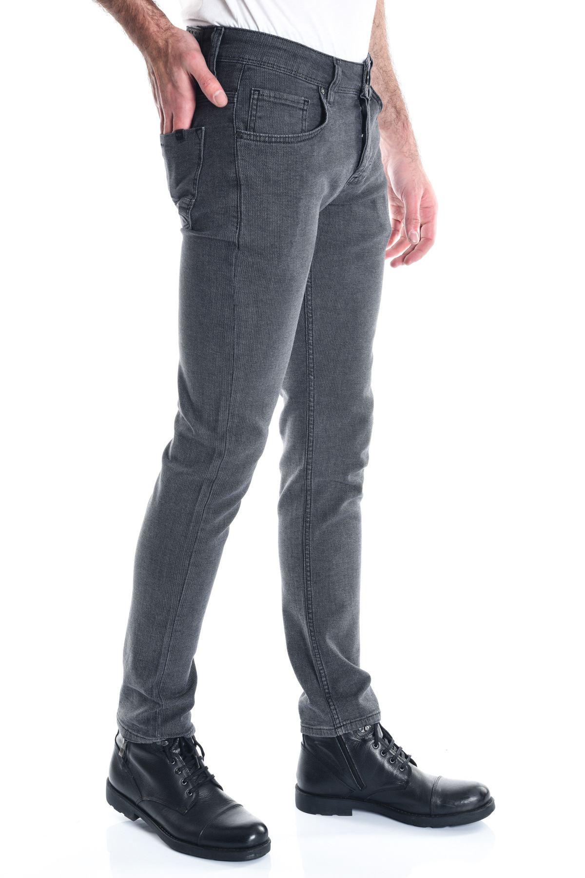 Erkek Füme Slimfit Erkek Pantolon