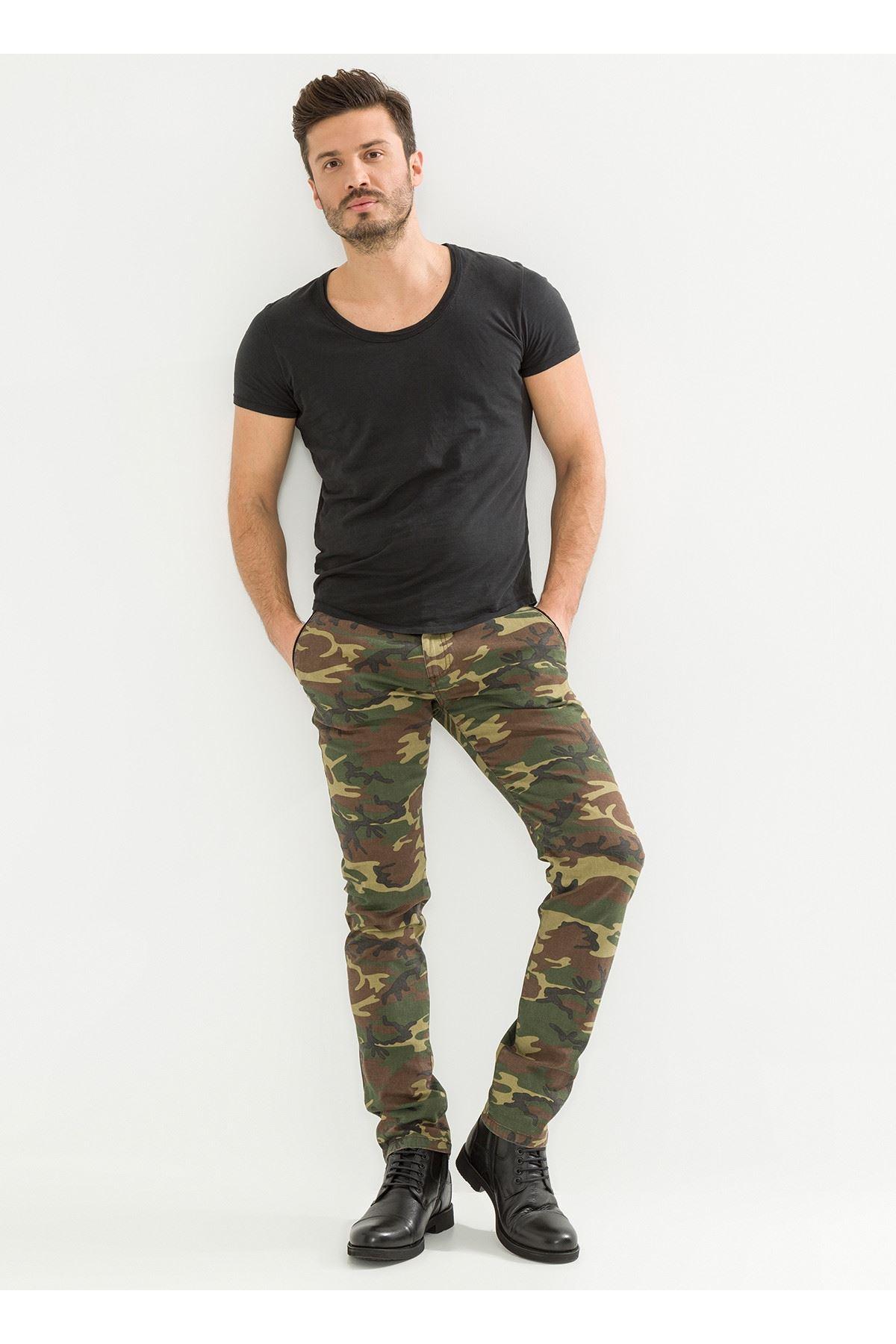 Kamuflaj Erkek Pantolon